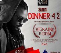 Samini – Dinner 4 2 (Migraine Riddim) (Prod. By Brainy Beatz) (Hosted by Dj Shiwaawa)
