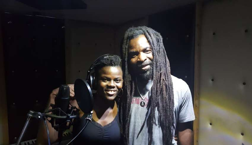 Photo of Rocky Dawuni and Wiyaala Collaborate in Nairobi