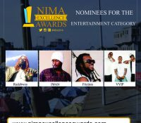 VVIP, Rudebwoy Ranking, Iwan, Friction, grab nomination – Nima Excellence Awards