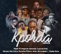 Edem – Kporda Remix Ft. Magnom x Kwaw Kese x Amerado x Laylow x Joel x Fareed x Kev x Kula x Kojo Cue x Akan & Strongman