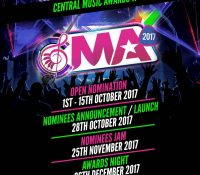 CALL FOR NOMINATIONS OPENS FOR THE 2017 CENTRAL MUSIC AWARDS