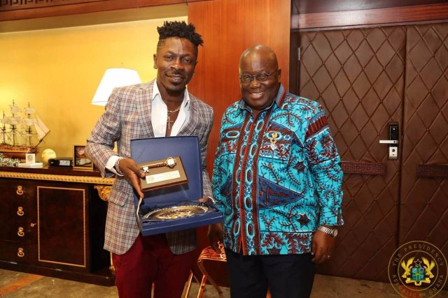Photo of Akufo-Addo has endorsed me as the 'Dancehall King' – Shatta Wale