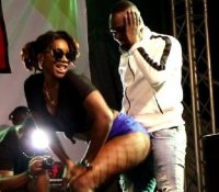 WATCH: Ebony twerks on Country Man Songo