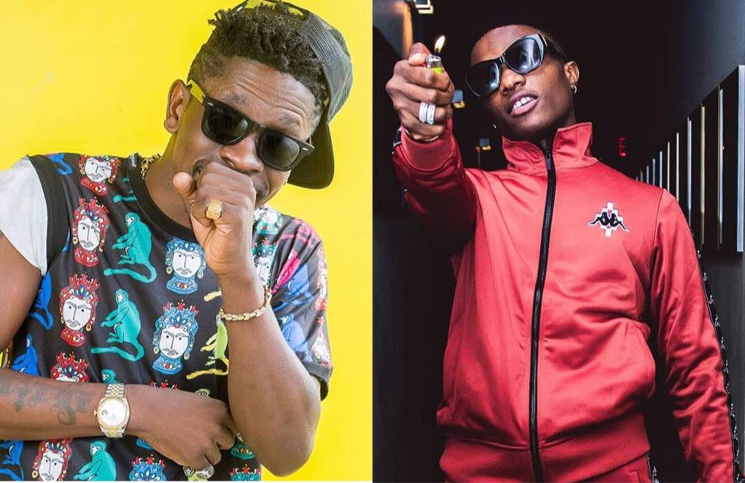 Photo of LISTEN: Shatta Wale's controversial statement about Wizkid on Kasapa FM