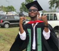 King Promise Graduates from Central University