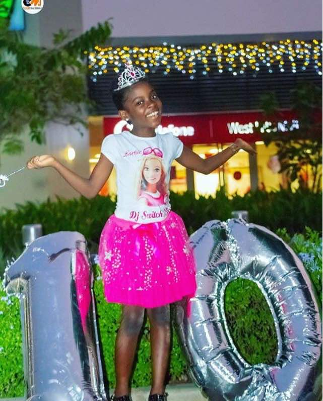 Photo of DJ Switch Switches To A Barbie Girl As She Turns 10
