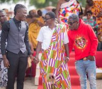 WATCH: Shatta Wale & Stonebeoy 'Reunite' in Kumasi