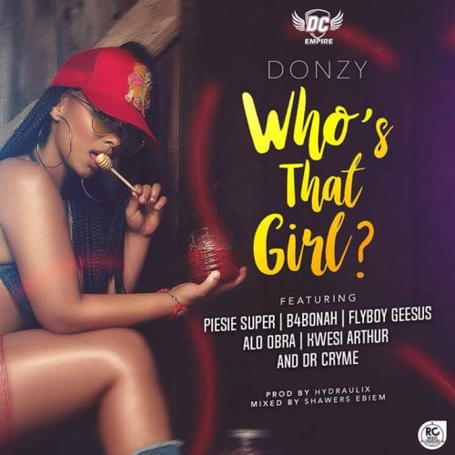 Donzy – Who's That Girl Ft Kwesi Arthur x B4Bonah x Dr Cryme x Piesie x FlyBoy x Alo Obra(Mixed By Shawers Ebiem)