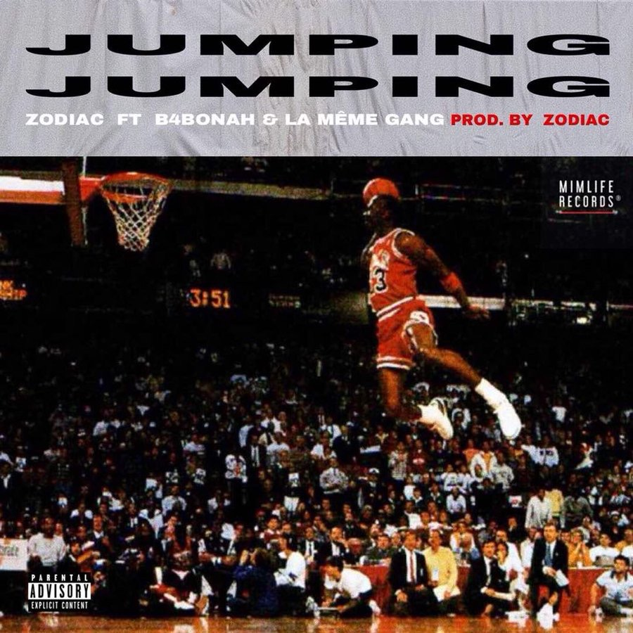 "Photo of Is Zodiac, B4Bonah and LA Meme gang taking advantage of Ypee's ""JUMPIN"" song to release another ""JUMPING"" song ??"
