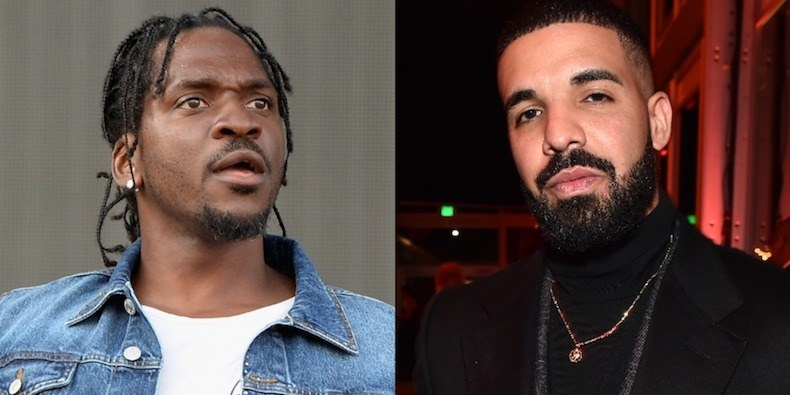 "Photo of LISTEN: Pusha-T Claps Back at Drake on Vicious New Song ""The Story of Adidon"""