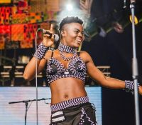 WATCH: Wiyaala & Patchbay Band Rock New World Festival In Israel