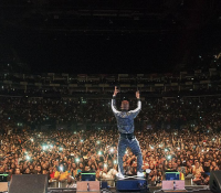 #GHANAMEETSNAIJA18 HEADLINE ACT WIZKID SELLS OUT 20,000 LONDON O2 ARENA