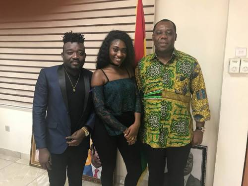 "Photo of ""Ebony is a Legend and will forever be a Legend"" – Bullet, CEO of RuffTown Records"