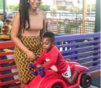 Shatta Michy's son Majesty displays wild football skills