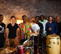 """Kofi Kinaata shoots live session for """"The Whole Show"""" on tour in Switzerland"""