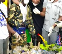 Patapaa leads cleanup exercise in Agona Swedru