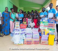 Photos: Jaddia Foundation donates to Mothers Care Orphanage home in Agona Swedru