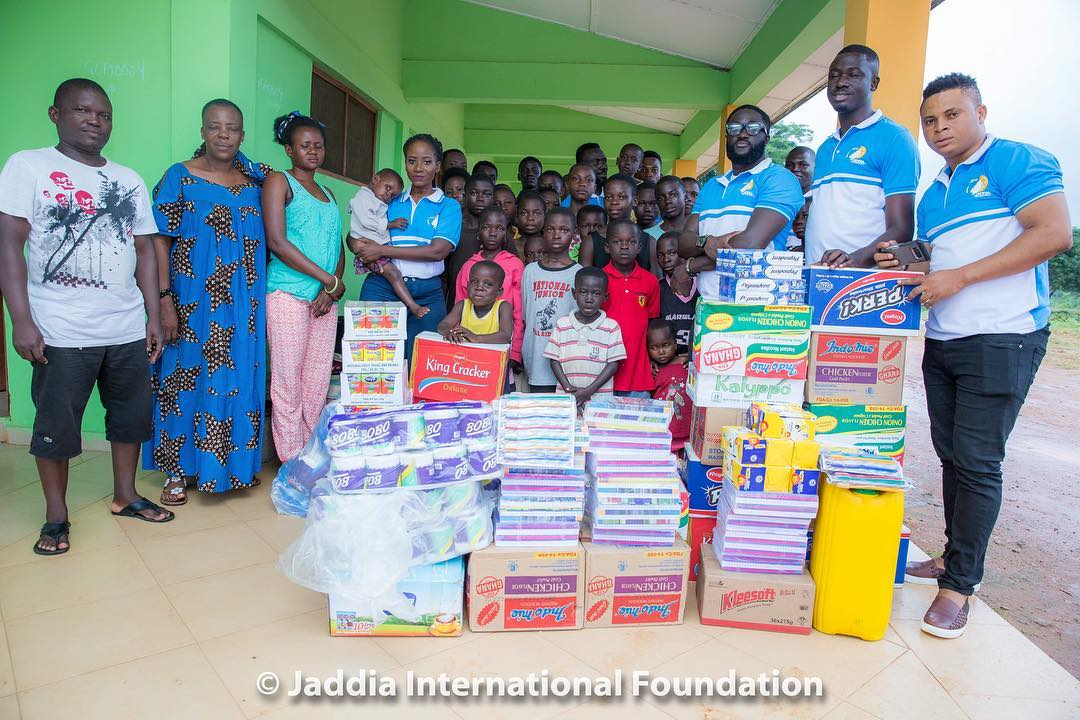 Photo of Photos: Jaddia Foundation donates to Mothers Care Orphanage home in Agona Swedru