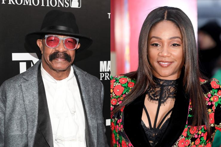 Photo of Tiffany Haddish Says Drake's Dad Slid In Her DMs