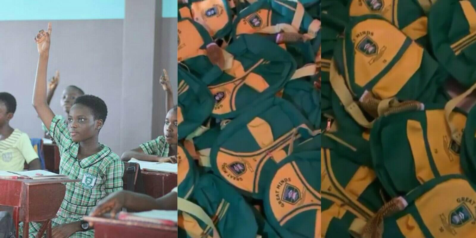 Photo of Lilwin buys 1000 school bags for all his Great Minds International School pupils