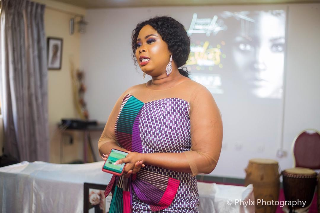 Photo of Actress Rabby Bray Launches Luxurious Eye Lashes for Ghanaian women