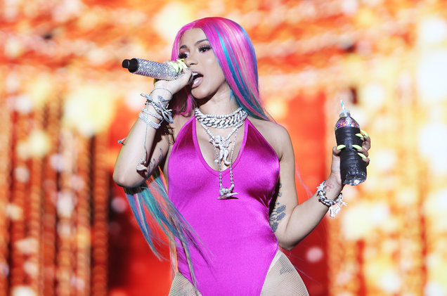Photo of Cardi B lands in Ghana for Accra Sports Stadium concert