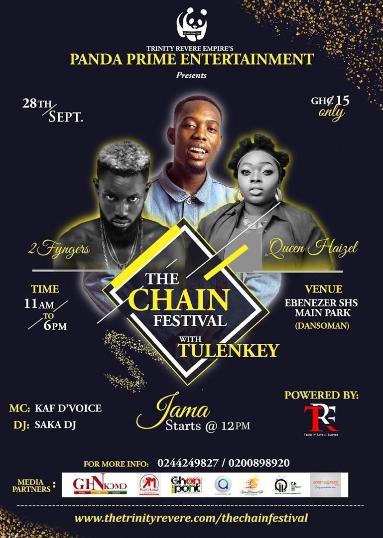 Photo of Maiden Edition: The Chain Festival, with Tulenkey comes off on 28th Sept 2019