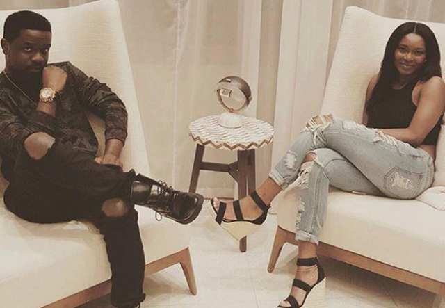 Sarkodie swiftly reacts to reports of his wife, Tracy Sarkcess giving birth in the UK