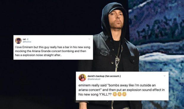 Eminem's New Album Includes Shockingly Distasteful Lyric About Ariana Grande Terror Attack