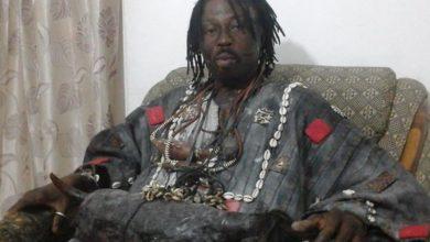 Photo of Kwaku Bonsam names son after popular Ghanaian musician