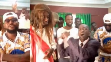 Photo of Yaa Pono, Hon. Aponkye & Ghana Jesus face-off in a rap battle