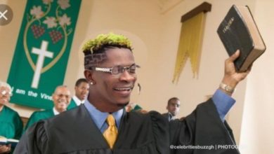 Photo of Shatta Wale organises Church service on Twitter