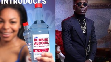 Photo of Coronavirus: Shatta Wale unveils new Kasapreko Hand Sanitizer