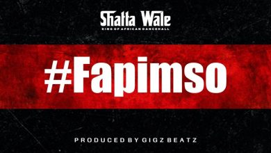 Photo of Shatta Wale – Fapimso (Prod. By GigzBeatz)
