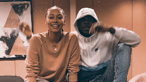 Photo of Keri Hilson drops exclusive studio session with Stonebwoy plus touching message