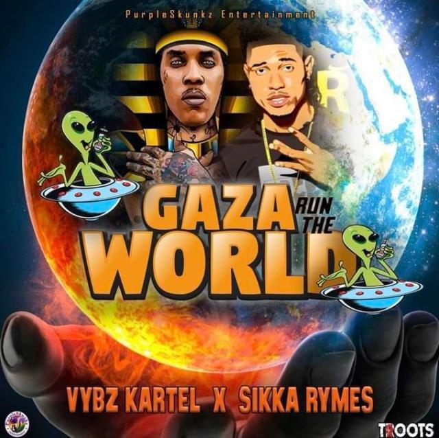 Vybz Kartel – Gaza Run The World Ft Sikka Rymes