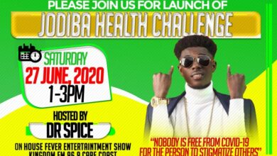 Photo of Jodiba Launches Health Challenge to fight Covid-19