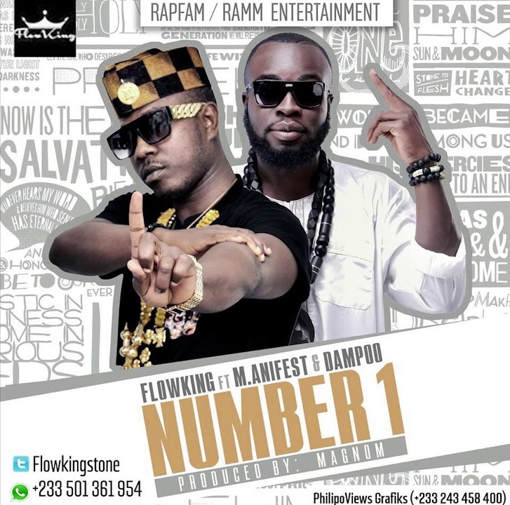 Flowking Stone – Number 1 ft. M.anifest & Dampoo (Prod. By Magnom)