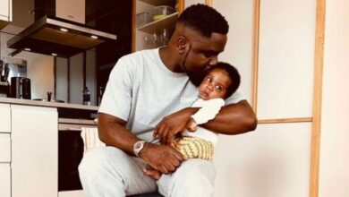 Photo of Meet Sarkodie's Newborn Son, Michael Nana Yaw Owusu Addo Jnr