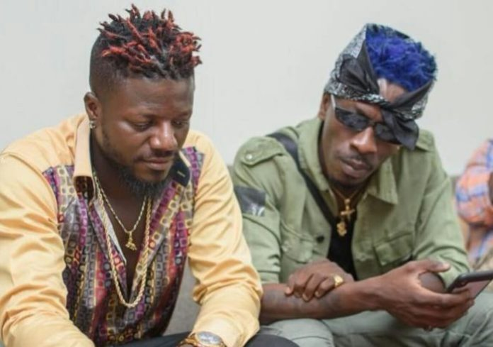 Pope Skinny jabs Shatta Wale for taking back his car from Joint 77