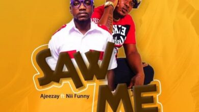 Photo of Ajeezay – Saw Me Ft Nii Funny (Prod By Deelawbeatz)