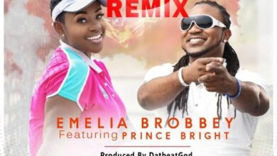 Photo of Emelia Brobbey – Fa Me Ko (Remix) Ft Prince Bright