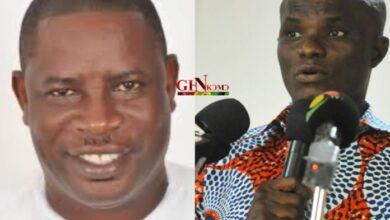"Photo of Former MP of Ekumfi ""Hon Abeiku Crentsil"" in a vulnerable position"
