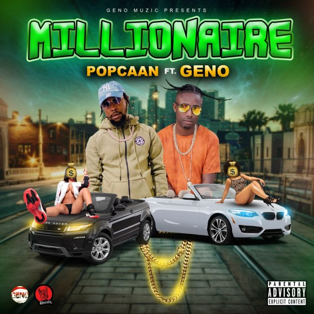 Popcaan – Millionaire Ft Geno