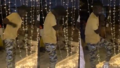 Photo of Kuami Eugene Dances To Stonebwoy's Putuu At The Birthday Party Of 3Music Awards CEO