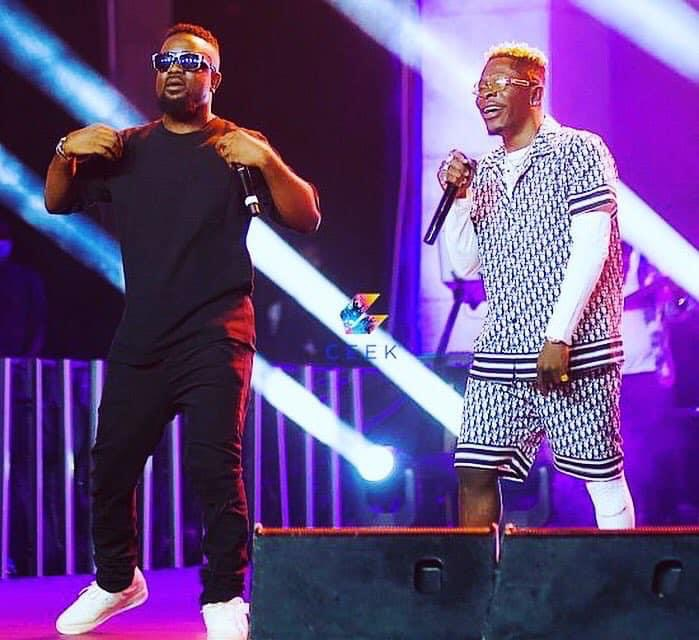 Video: Sarkodie and Shatta Wale settle their beef with an amazing performance