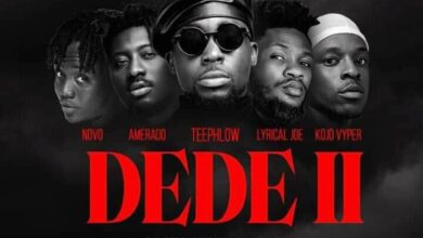 Photo of TeePhlow – Dede II Ft Amerado x Kojo Vypa x Novo x Lyrical Joe (Prod By Two Bars)