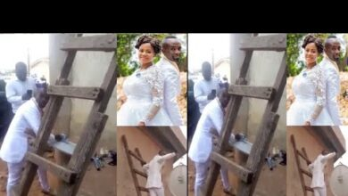 Photo of Groom shun Bride in Chuch to fix a client's DSTV on Wedding Day (Video)