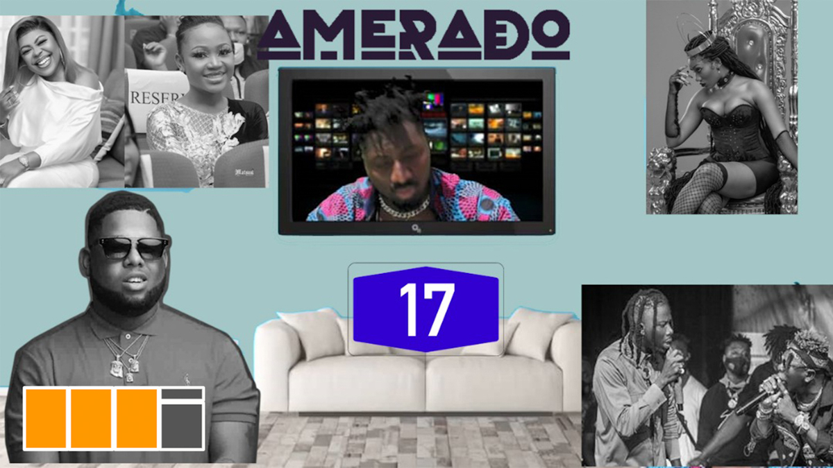 Amerado - Yeete Nsem Episode 17 Ft Clemento Suarez and Teacher Kwadwo
