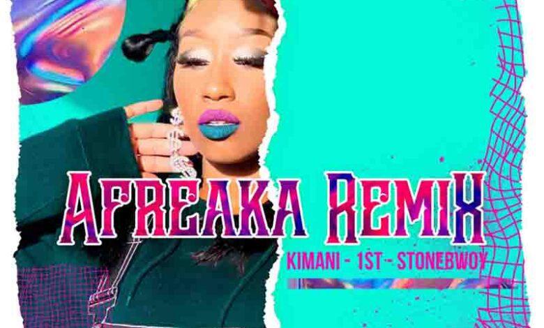 Photo of Victoria Kimani & FKI 1st – Afreaka Remix Ft Stonebwoy